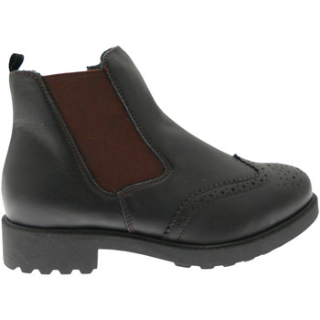 kengät Naiset Nilkkurit Calzaturificio Loren LOC3753ne nero