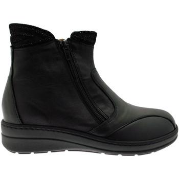 kengät Naiset Nilkkurit Calzaturificio Loren LOM2755ne nero