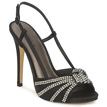 kengät Naiset Sandaalit ja avokkaat Menbur ACER Black