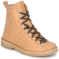 kengät Naiset Bootsit Swedish hasbeens VINTAGE BOWLING BOOT Beige