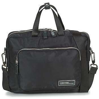 laukut Miehet Salkut Calvin Klein Jeans PRIMARY 1 GUSSET LAPTOP BAG Black