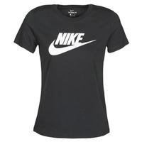 vaatteet Naiset Lyhythihainen t-paita Nike NIKE SPORTSWEAR Black