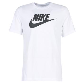 huge discount 7470d cd94e vaatteet Miehet Lyhythihainen t-paita Nike NIKE SPORTSWEAR White