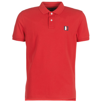 vaatteet Miehet Lyhythihainen poolopaita Tommy Hilfiger ICON MINI BADGE REGULAR POLO Red