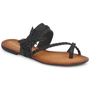 kengät Naiset Varvassandaalit Moony Mood LILIANA Black