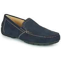 kengät Miehet Mokkasiinit Geox MONET Blue