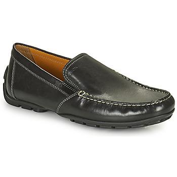 kengät Miehet Mokkasiinit Geox MONET Black