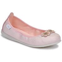 kengät Tytöt Balleriinat Citrouille et Compagnie JATAMAL Vaaleanpunainen