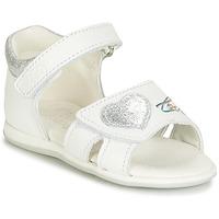 kengät Tytöt Sandaalit ja avokkaat Citrouille et Compagnie JAFALGA White