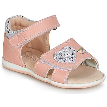 kengät Tytöt Sandaalit ja avokkaat Citrouille et Compagnie JAFALGA Pink