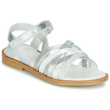 kengät Tytöt Sandaalit ja avokkaat Citrouille et Compagnie JARILOU Hopea