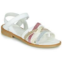 kengät Tytöt Sandaalit ja avokkaat Citrouille et Compagnie JARILOU White