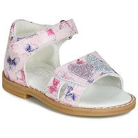 kengät Tytöt Sandaalit ja avokkaat Citrouille et Compagnie JARILOUTE Pink