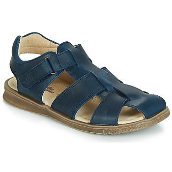 kengät Pojat Sandaalit ja avokkaat Citrouille et Compagnie JALIDOU Blue / Fonce