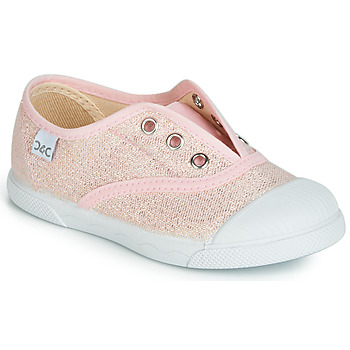 kengät Tytöt Matalavartiset tennarit Citrouille et Compagnie JANOLIRE Pink / Metallinen