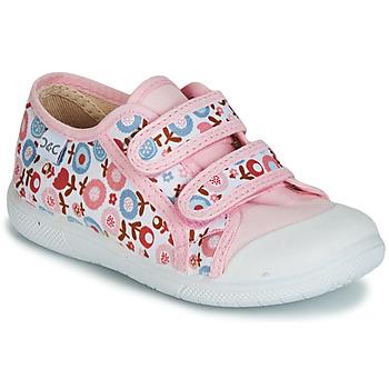 kengät Tytöt Matalavartiset tennarit Citrouille et Compagnie JORIPALE Pink / Red
