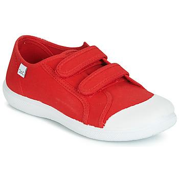 kengät Lapset Matalavartiset tennarit Citrouille et Compagnie JODIPADE Red