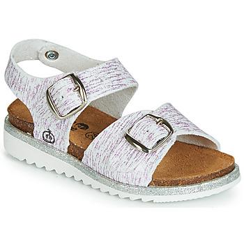 kengät Tytöt Sandaalit ja avokkaat Citrouille et Compagnie JANETTA White / Violet