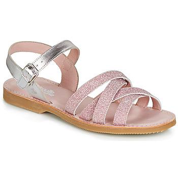 kengät Tytöt Sandaalit ja avokkaat Citrouille et Compagnie JARDINA Pink
