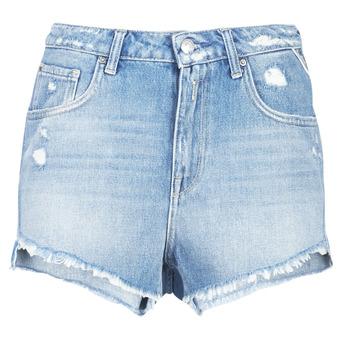 vaatteet Naiset Shortsit / Bermuda-shortsit Replay PABLE Sininen