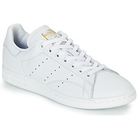kengät Naiset Matalavartiset tennarit adidas Originals STAN SMITH W White