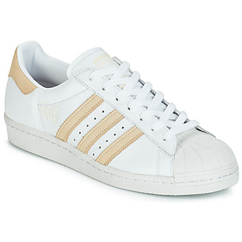 kengät Matalavartiset tennarit adidas Originals SUPERSTAR 80s White / Beige