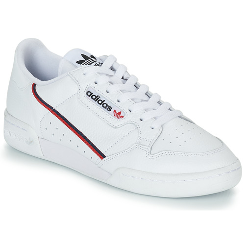 new style 92fa2 dfea2 kengät Matalavartiset tennarit adidas Originals CONTINENTAL 80 White