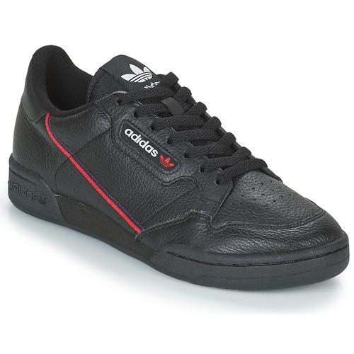 kengät Matalavartiset tennarit adidas Originals CONTINENTAL 80 Black
