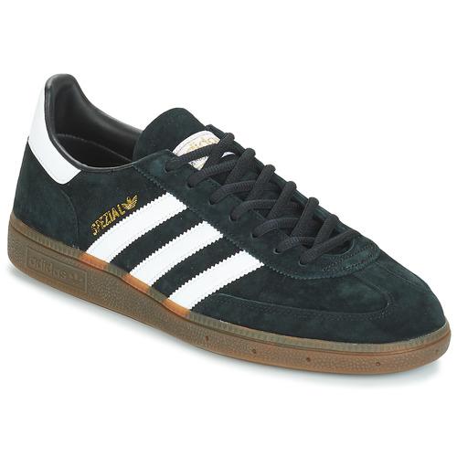 kengät Miehet Matalavartiset tennarit adidas Originals HANDBALL SPZL Black