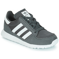 kengät Lapset Matalavartiset tennarit adidas Originals OREGON Grey