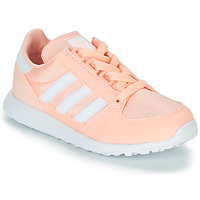 kengät Tytöt Matalavartiset tennarit adidas Originals OREGON Pink