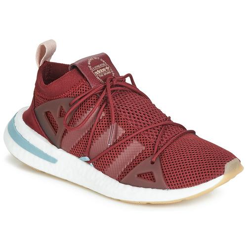 kengät Naiset Matalavartiset tennarit adidas Originals ARKYN W Bordeaux