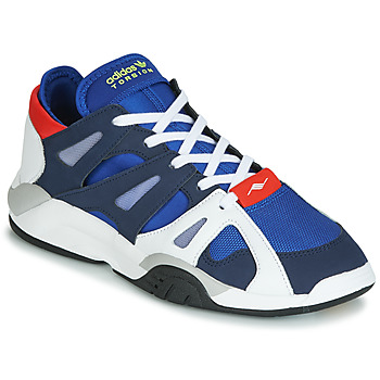 kengät Miehet Matalavartiset tennarit adidas Originals DIMENSION LO White / Blue