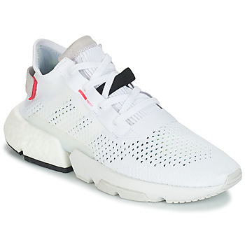 kengät Miehet Matalavartiset tennarit adidas Originals P.O.D White
