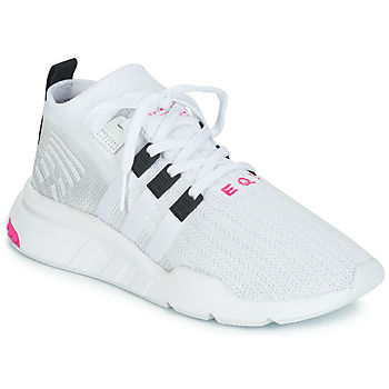 kengät Miehet Matalavartiset tennarit adidas Originals EQT SUPPORT MID ADV White