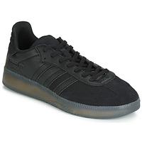 kengät Miehet Matalavartiset tennarit adidas Originals SAMBA RM Musta