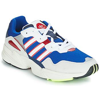 kengät Miehet Matalavartiset tennarit adidas Originals YUNG 96 White / Violet