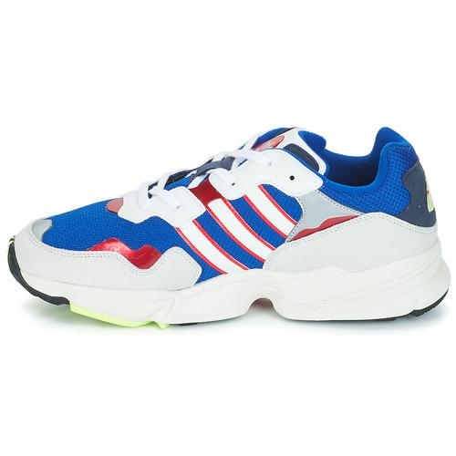 Adidas Originals Yung 96 White / Violet - Ilmainen Toimitus- Kengät Matalavartiset Tennarit Miehet 71