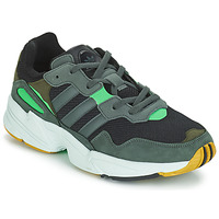 kengät Miehet Matalavartiset tennarit adidas Originals YUNG 96 Grey / Green