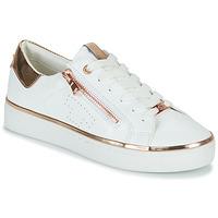 kengät Naiset Matalavartiset tennarit Tom Tailor 6992603-WHITE Valkoinen