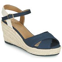kengät Naiset Sandaalit ja avokkaat Tom Tailor 6990101-NAVY Laivastonsininen