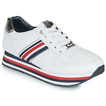 kengät Naiset Matalavartiset tennarit Tom Tailor  White