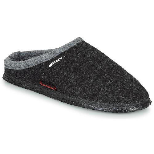 kengät Tossut Giesswein DANNHEIM Anthracite