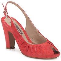 kengät Naiset Sandaalit ja avokkaat Janet&Janet PEONIA PLISA Red