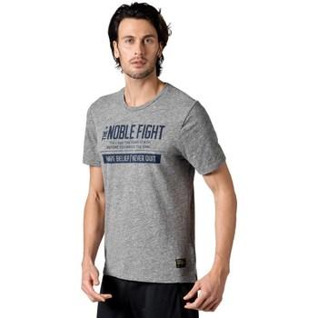 vaatteet Miehet Lyhythihainen t-paita Reebok Sport Combat Noble Fight X Tshirt Harmaat