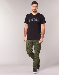 vaatteet Miehet Reisitaskuhousut G-Star Raw ROVIC ZIP 3D STRAIGHT TAPERED Kaki