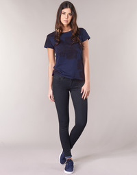 vaatteet Naiset Skinny-farkut G-Star Raw LYNN D-MID SUPER SKINNY Blue