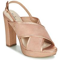 kengät Naiset Sandaalit ja avokkaat Menbur VILLALBA Pink / Kulta