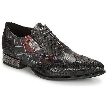 kengät Miehet Herrainkengät New Rock SALSO Black