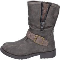 kengät Tytöt Nilkkurit Manairons stivaletti grigio pelle BT347 Grigio